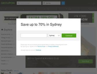 Thumbshot of Grouponshop.com.au
