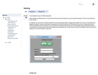 oren-hack.blogspot.com screenshot