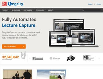 Thumbshot of Tegrity.com
