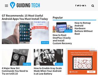 guidingtech.com screenshot