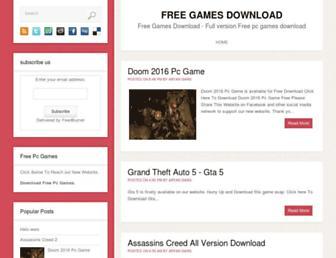 Thumbshot of Ourpcgame.net