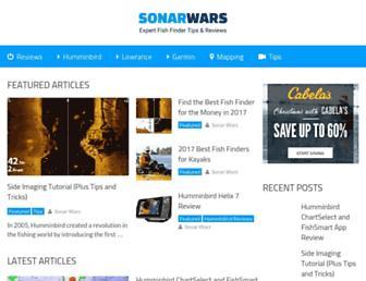 sonarwars.com screenshot