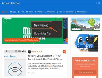 androidfilebox.com screenshot