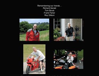 Main page screenshot of motorcycleaddicts.org