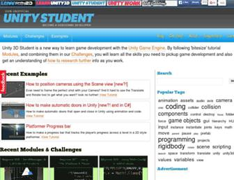Thumbshot of Unity3dstudent.com