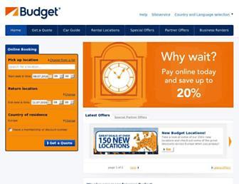 budgetinternational.com screenshot