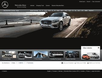 mercedes-benz.ca screenshot