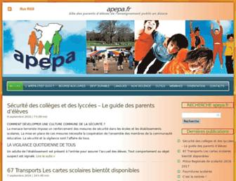 apepa.fr screenshot