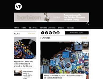 thevinylfactory.com screenshot