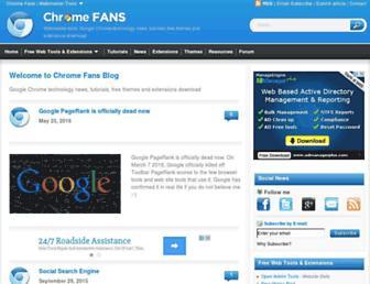 Thumbshot of Chromefans.org