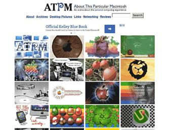 Thumbshot of Atpm.com