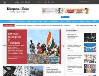 telanganatoday.com screenshot