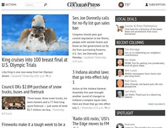 courierpress.com screenshot