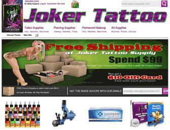 jokertattoo.net screenshot