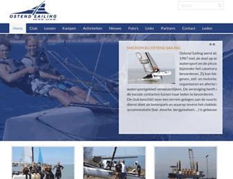 Main page screenshot of osrc.be