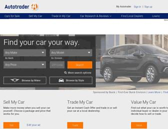 Thumbshot of Autotrader.com