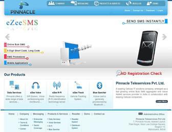 pinnacleteleservices.com screenshot