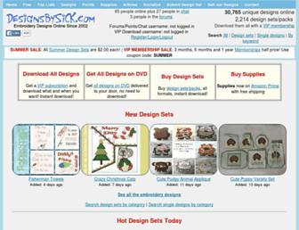 Thumbshot of Designsbysick.com
