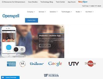 Thumbshot of Openxcell.com