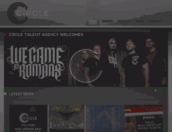 circletalentagency.com screenshot