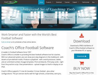 coachsoffice.com screenshot