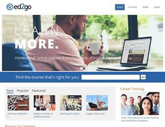 ed2go.com screenshot