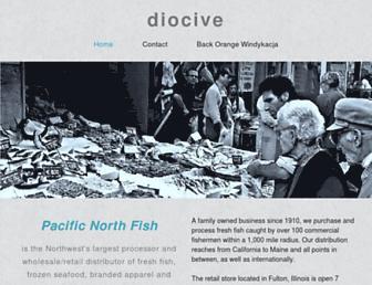 diocive.yolasite.com screenshot