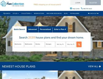 theplancollection.com screenshot