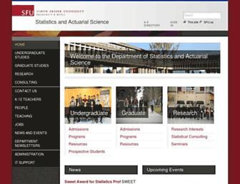 stat.sfu.ca screenshot