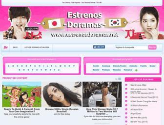 estrenosdoramas.net screenshot