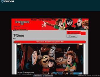 hoteltransylvania.fandom.com screenshot