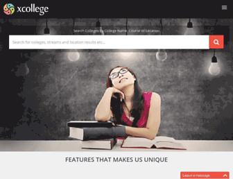 xcollege.in screenshot