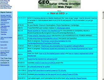 geofex.com screenshot