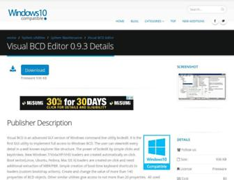 visual-bcd-editor.windows10compatible.com screenshot