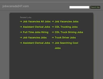 Thumbshot of Jobscanada247.com