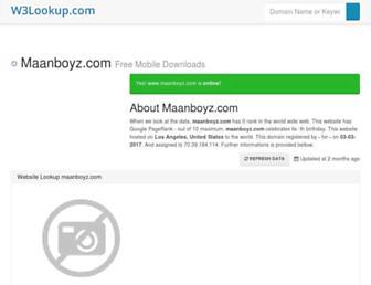 maanboyz.com.w3lookup.net screenshot