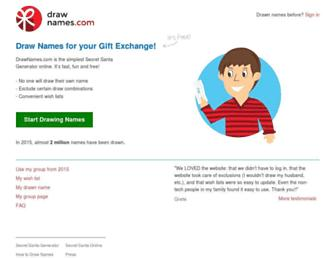Thumbshot of Drawnames.com