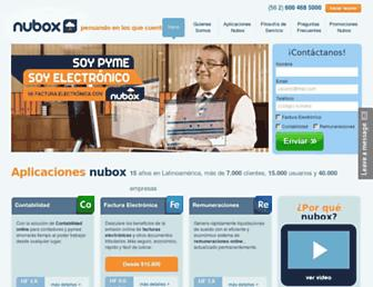 nubox.com screenshot