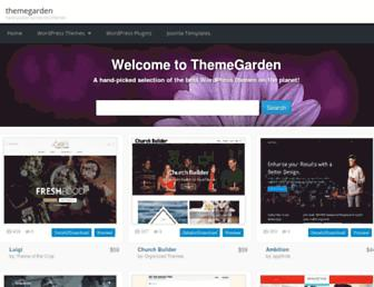 Thumbshot of Themegarden.com