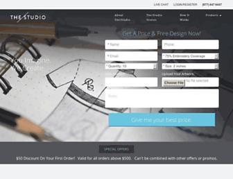 thestudio.com screenshot