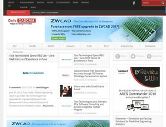 dailycadcam.com screenshot