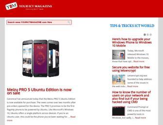 yourictmagazine.com screenshot
