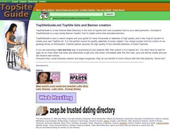 Thumbshot of Topsiteguide.com