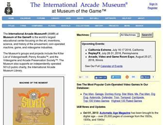 arcade-museum.com screenshot