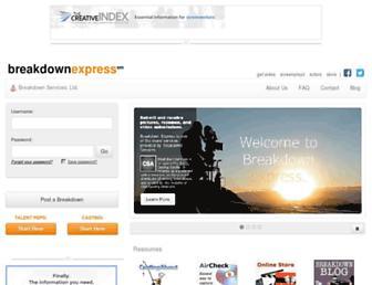 Thumbshot of Breakdownexpress.com
