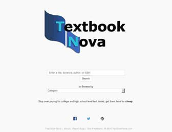 Thumbshot of Textbooknova.com
