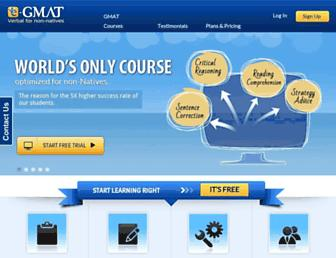 Thumbshot of E-gmat.com