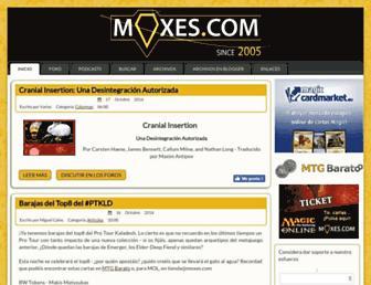 moxes.com screenshot