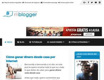 muyblogger.com screenshot