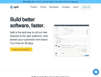 split.io screenshot